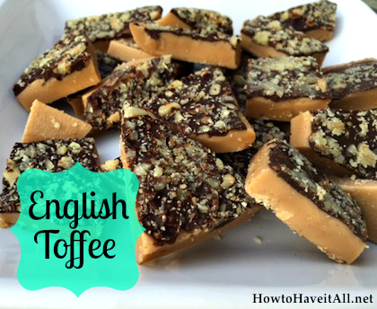 english toffee candy