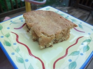 butterscotch banana bars