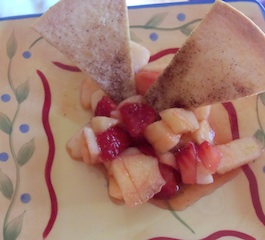 Strawberry Apple Salsa recipe