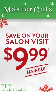 photograph about Mastercut Coupons Printable identified as Mastercuts hair salon discount coupons - Wild h2o west promotions