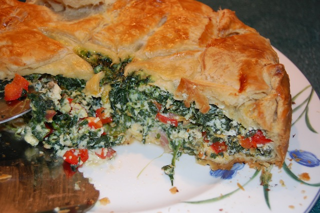 Spinach Brunch Bake recipe