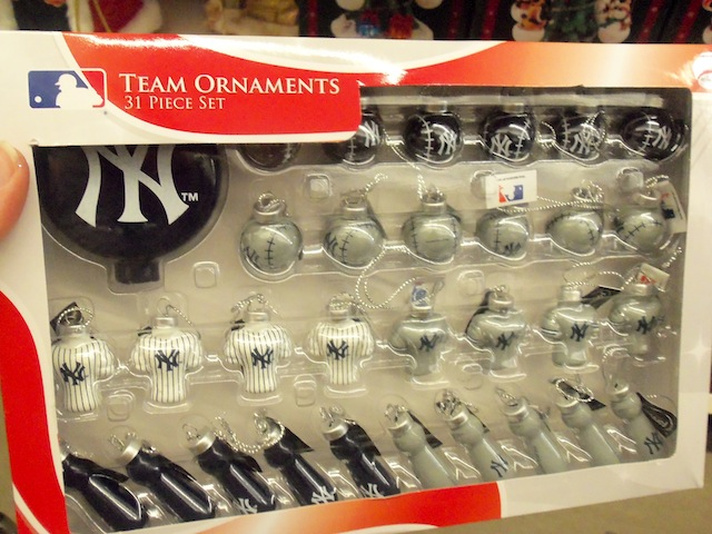 NY Yankees Ornaments - Kmart Holiday Shop: Outdoor Decor Ideas How To Have It All