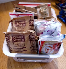 Oatmeal Basket