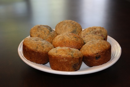 Fruit & Yogurt Muffins Recipe