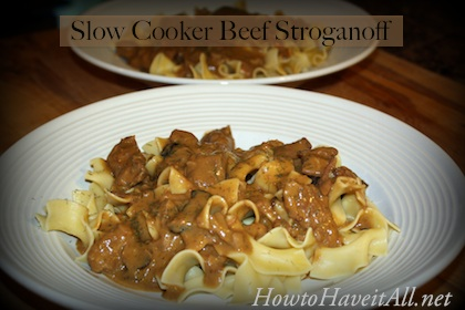 Okay slow cooker fans, this is an easy recipe for beef stroganoff. It ...