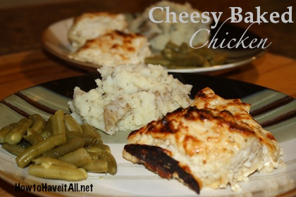 cheesy baked chicken