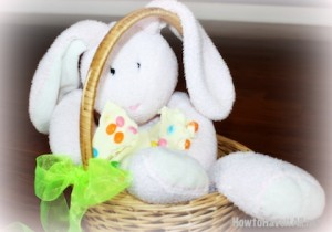 easter bunny and jelly bean bark