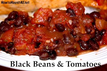 Black Beans & Tomatoes