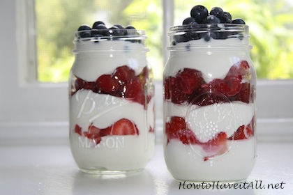 Red White Blue Parfait