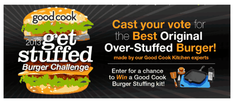 Get Stuffed Burger Competition