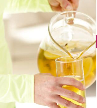 how to make iced green tea for one
