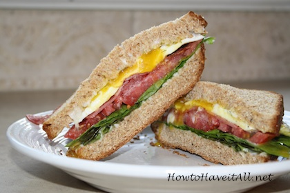 Give an old classic BLT sandwich a fresh taste with a few simple new ...