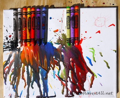 Melted Crayon B