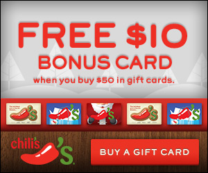 Chili's gift card deal