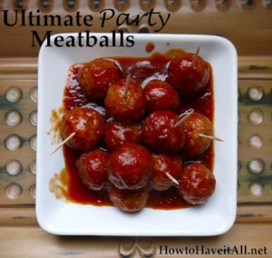 Johnsonville Ultimate Party Meatballs