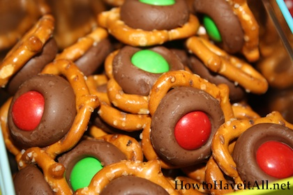 Pretzel Chocolate Snacks