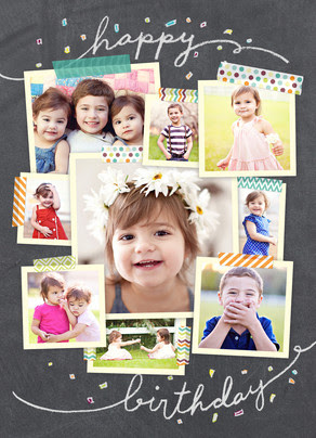 Buy 2 Get 1 Free Personalized Birthday Cards