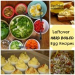 leftover hard boiled egg recipes