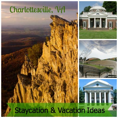 charlottesville vacation