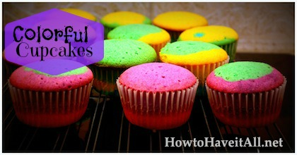 colorful cupcakes 2