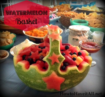 Easy Watermelon Carving How to Make a Watermel...