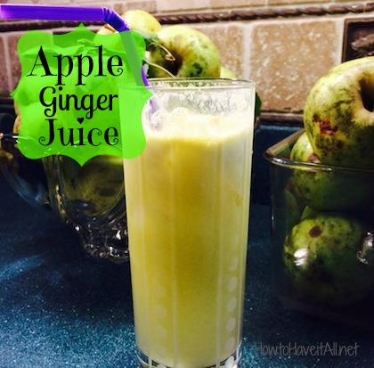 apple ginger juice recipe