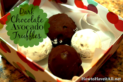 avocado truffles recipe