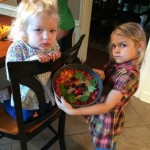 kids in kitchen