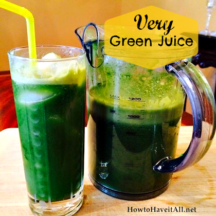very green juice recipe