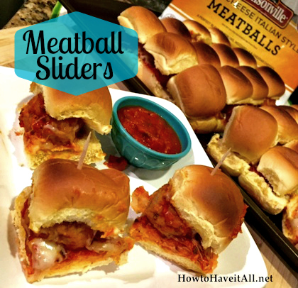 easy meatball sliders 2
