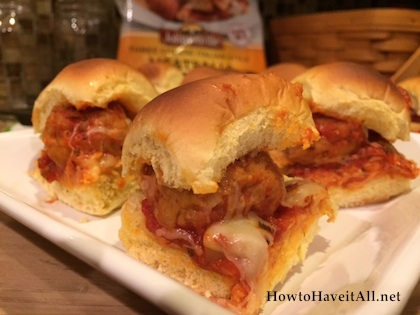 meatball sliders recipe