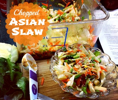 chopped asian slaw