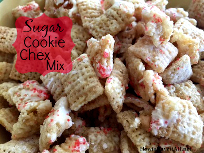 Sugar Cookie Chex Mix 2
