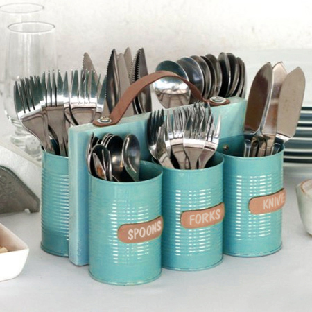 recycled can cutlery
