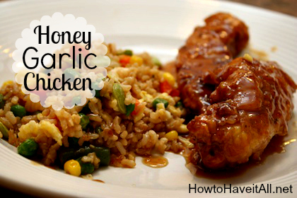 honey garlic chicken 2