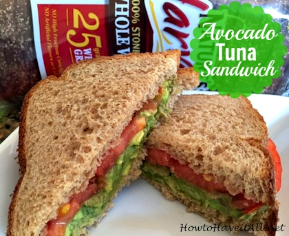 avocado tuna sandwich 2