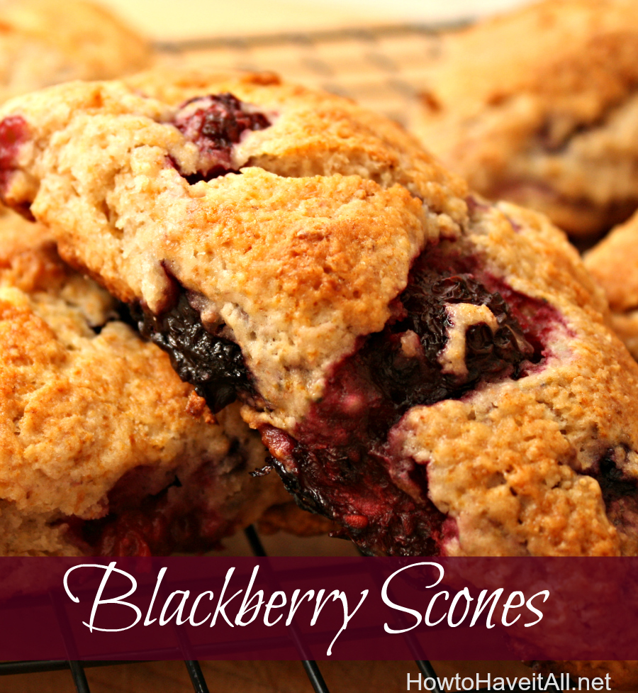 blackberry scones recipe